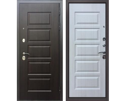 Входная металлическая дверь Бульдорс Комбат 5 (Ларче шоколад / Ларче бьянко)