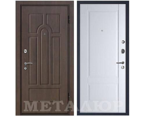 Входная металлическая дверь МеталЮр М12 Аляска
