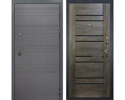 Входная дверь Лекс Сенатор 3К Софт графит Терра (№64 Графит шале)