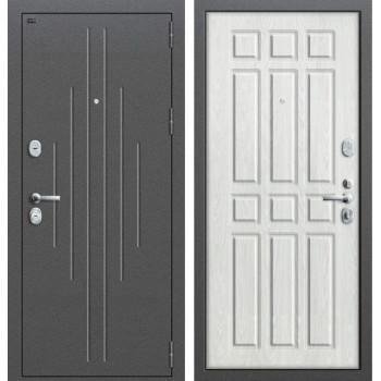 Дверь входная металлическая Groff P2-205 (Беленый дуб)