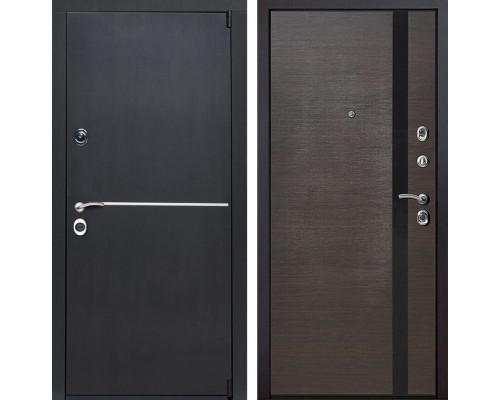 Входная металлическая дверь Римини Z6 (Венге патина / Венге)