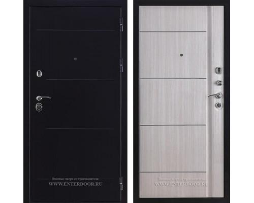 Дверь входная металлическая Цитадель 3М (Антик серебро темное / Дуб светлый)
