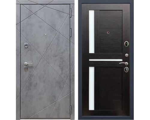 Входная металлическая дверь Армада 13 СБ-18 (Бетон тёмный / Венге)