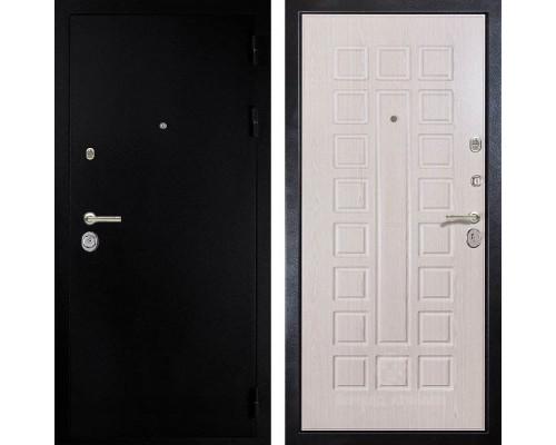 Входная металлическая дверь Дива МД-24 (Титан / Дуб белёный)