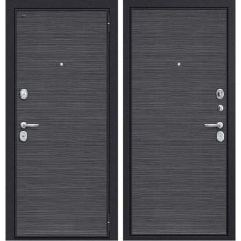 Дверь входная металлическая Groff T3-300 (Black Wood / Black Wood)