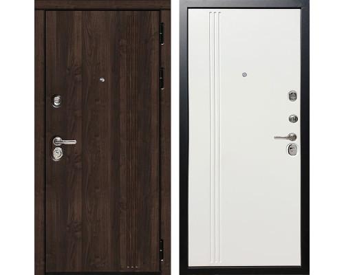 Входная металлическая дверь Дива МД-27 (Алмон 28 / Белое дерево)