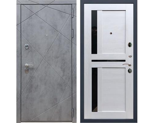 Входная металлическая дверь Армада 13 СБ-18 (Бетон тёмный / Лиственница беж)