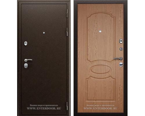 Входная металлическая дверь АСД Грация (Дуб светлый)