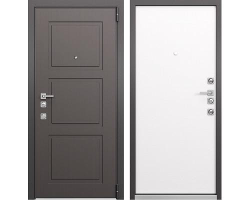 Входная металлическая дверь Mastino Forte (Синхропоры модерн MS-104 / Реалвуд молочный MS-100)