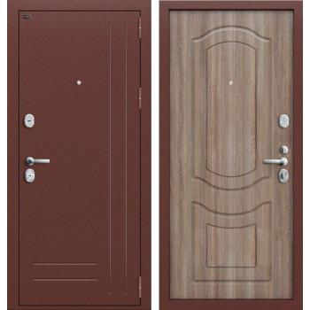 Дверь входная металлическая Groff P2-200 (Орех темный)
