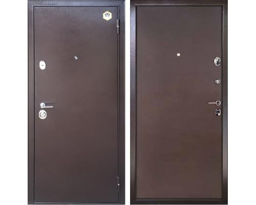 Входная металлическая дверь Бульдорс 14 Steel (Медный антик / Медный антик)