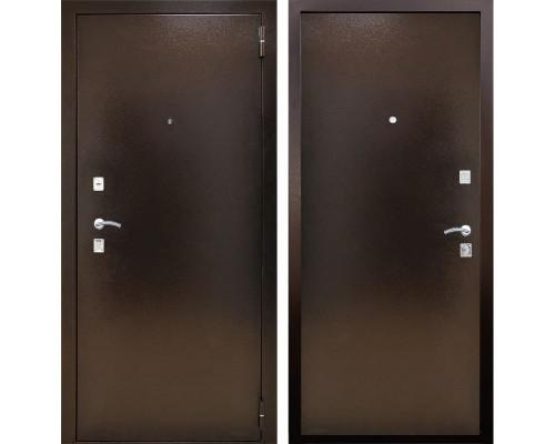 Входная металлическая дверь Снедо Триумф 2К (Медный антик / Медный антик)