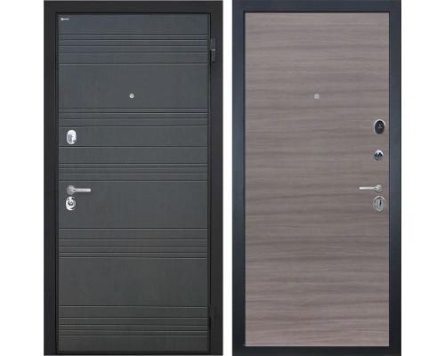 Входная металлическая дверь Интекрон Спарта (Венге / Дуб Тоскано)