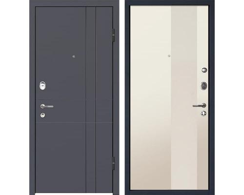 Входная металлическая дверь МеталЮр М16 Магнолия