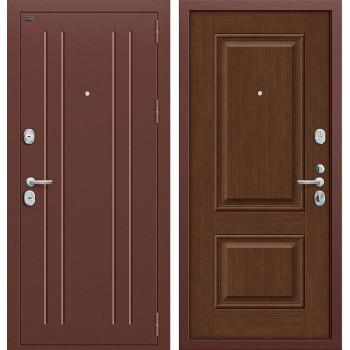 Дверь входная металлическая Groff Т2-232 (Медный антик / Brown Oak)