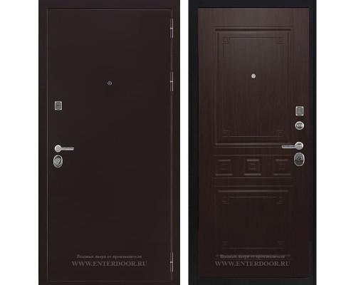Входная металлическая дверь Соломон Гранд (Антик медь / Венге)