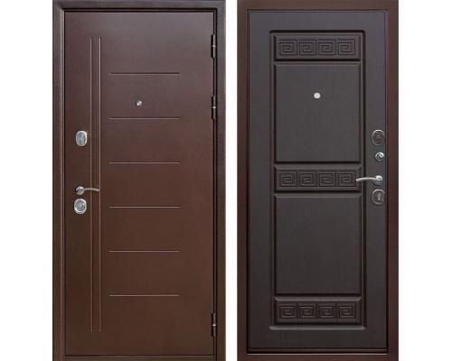Входная дверь Троя (Антик Медь / Венге)