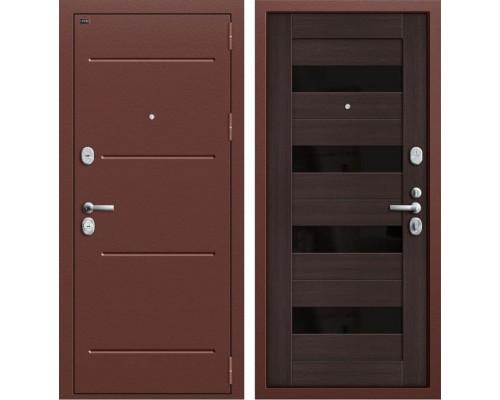 Дверь входная металлическая Groff T2-223 (Медный антик / Wenge Veralinga)