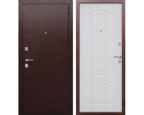 Входная дверь Доминанта (Антик Медь / Ясень белый)