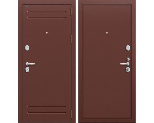 Дверь входная металлическая Groff T1-210 (Медный антик / Медный антик)