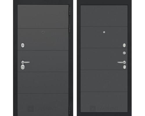 Входная дверь ART графит 13 - Графит софт