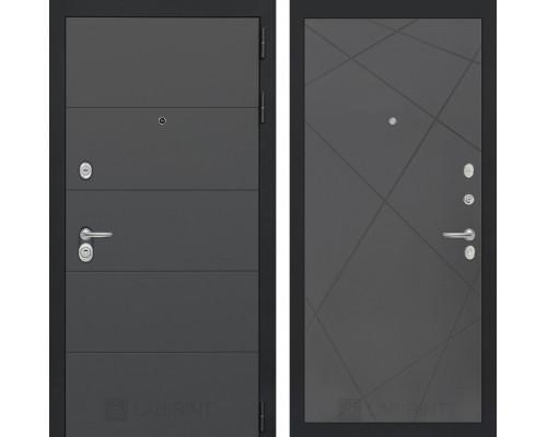 Входная дверь ART графит 24 - Графит софт