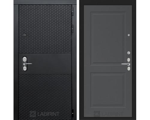 Входная дверь BLACK 11 - Графит софт